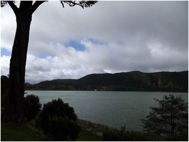 A little peak of  lagoa das Furnas (Lake Furnas). Furnas is a civil parish in the municipality of Povoação, the parish is one of the largest in the island and in the Azores.
