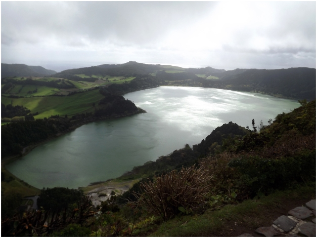 The gorgeous Lagao das Furnas...