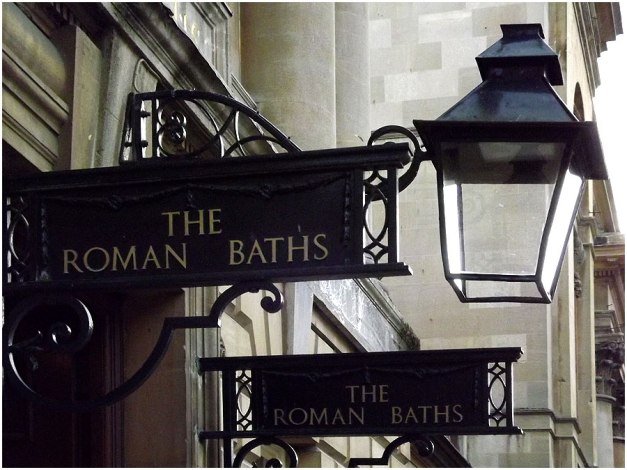 And of course, the famous Roman Baths...