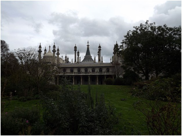 The Royal Pavilion is a former royal residence located in Brighton, England, United Kingdom.