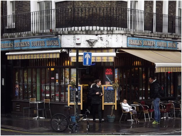The Charles Dickens Coffee House...unfortunately no time for this one :-(