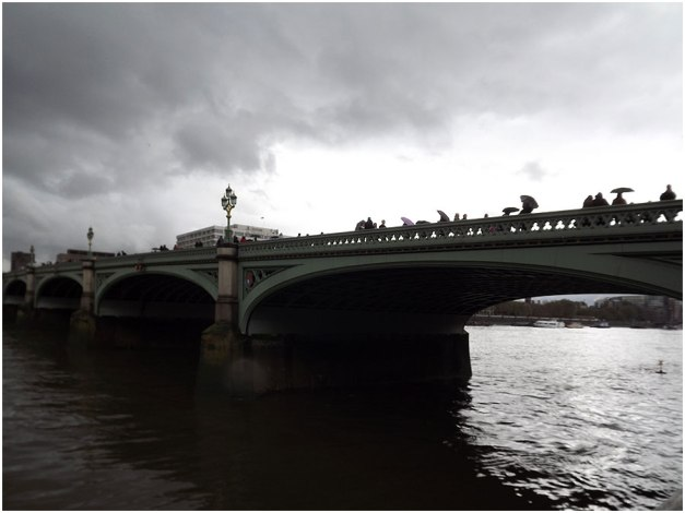 Westminster Bridge...on a gloomy afternoon.